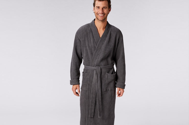 Waffle robes by Coyuchi - the classic spa robe reinvented