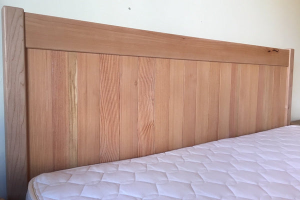 Western Maple Platform Bed Frame