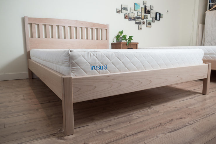 Western Maple Platform Bed - The Circa - Handcrafted by Alternative Woodworks. Available at Resthouse Sleep Solutions, Duncan, Vancouver Island