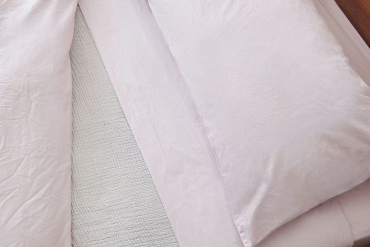 Organic Duvet Cover - Available in a carefully curated array of classic shades