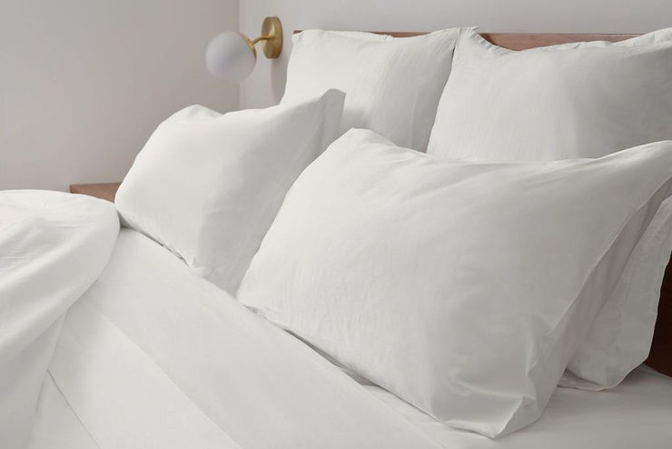Made to last these luxurious duvet covers feature hidden ties and convenient button closures.