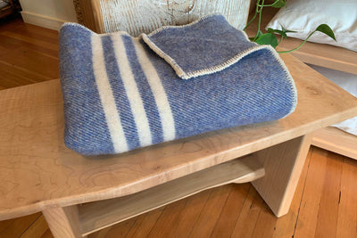 Wool Lap Blankets by MacAusland's Woollen Mills - Made in Canada