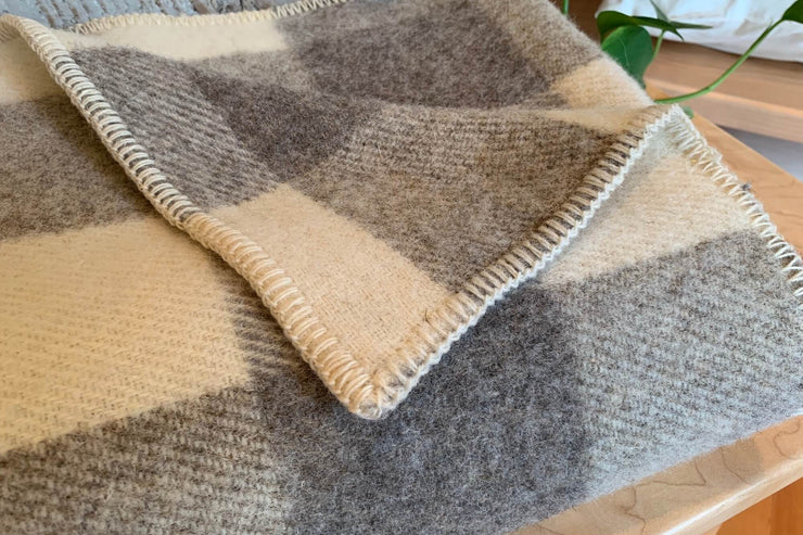 The perfect gift - Wool Throws by MacAusland's Woollen Mills.