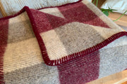 Crafting wool blankets is the specialty of MacAusland's Woollen Mills of Prince Edward Island since 1932