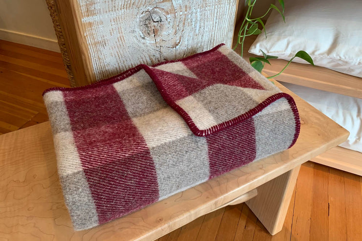 Wool Throws by MacAusland's Woollen Mills