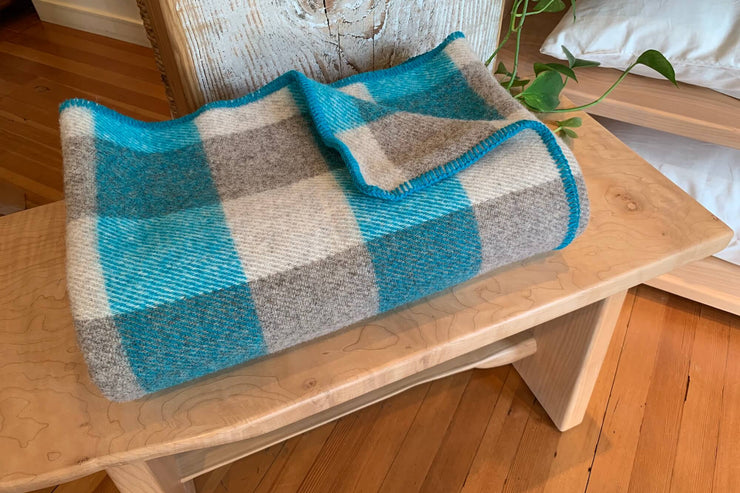 Wool throws - luxurious, authentic, and made to last.