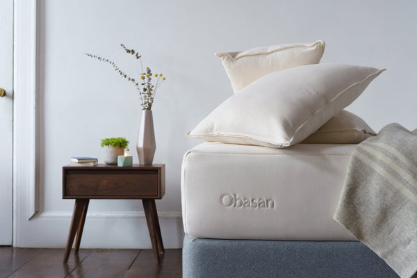 Organic Shredded Latex/Wool Pillow by Obasan