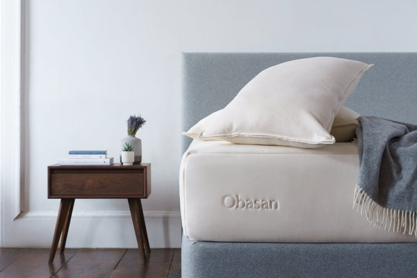 Organic Wool Pillow by Obasan