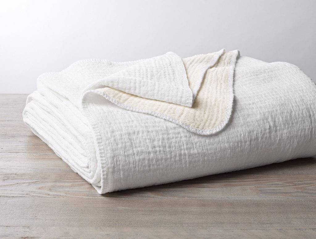 Cozy Organic Cotton Blanket by Coyuchi