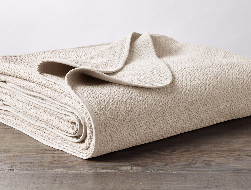 Organic Cotton Honeycomb Baby Blanket by Coyuchi