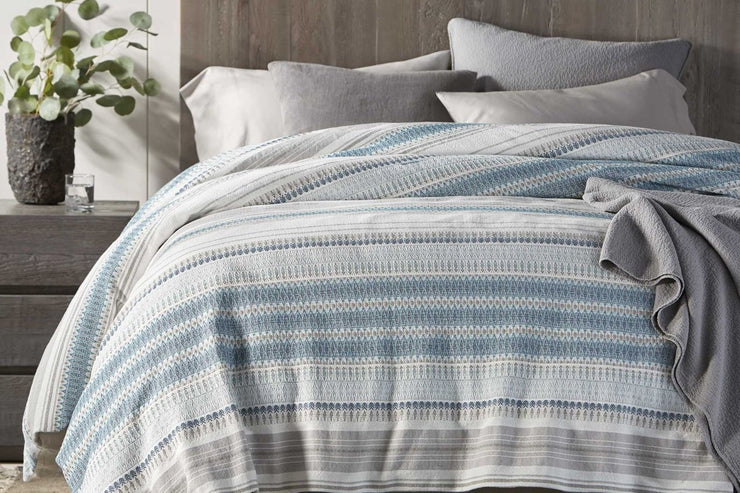 Coyuchi Lost Coast Organic Cotton Duvet Cover