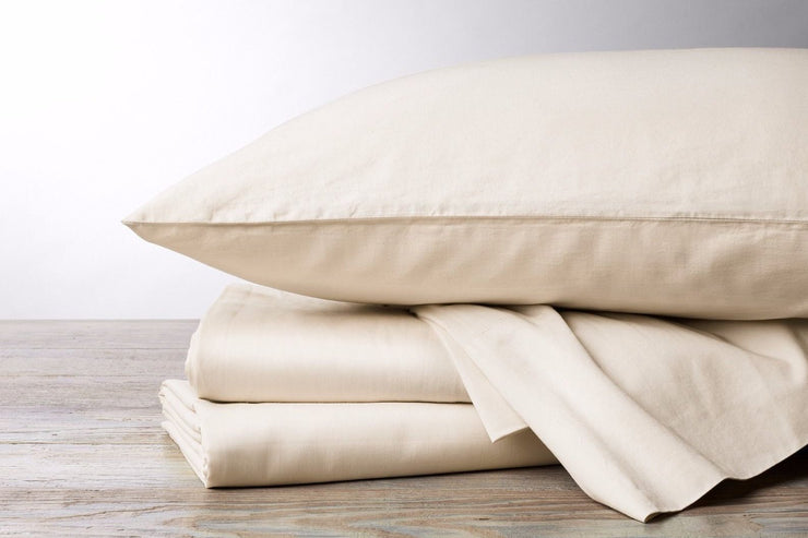 Organic fitted sheets available at Resthouse Sleep Solutions