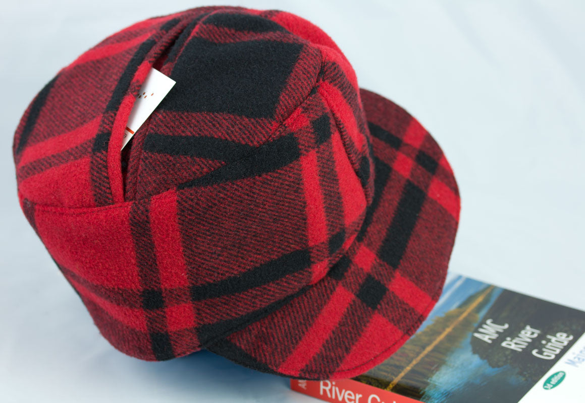 Red Plaid Lumberjack Hat