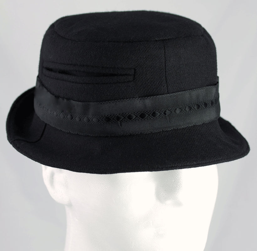 Walter White Breaking Bad Hat black wool fedora