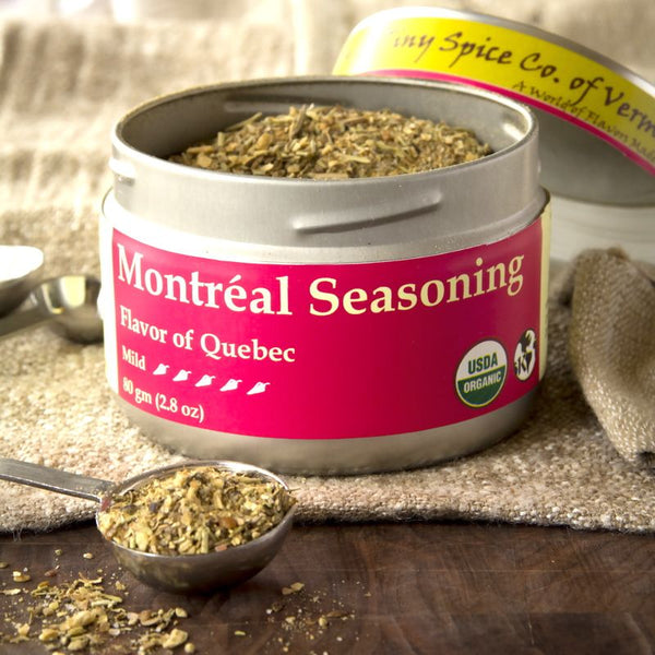 Montréal Seasoning is our south-of-the-northern-border take on the classic steak rub of the French-Canadian capital