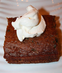 Zucchini Gingerbread with California Roasted Almond Oil