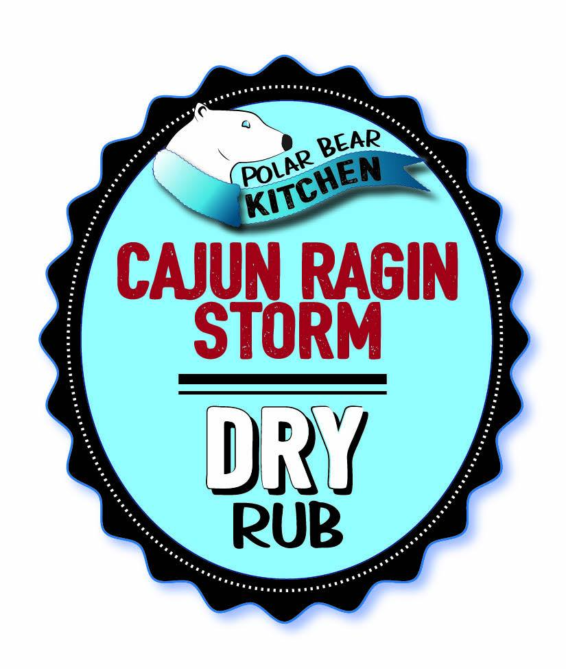 Polar Bear Kitchen Cajun Rajin Storm Rub