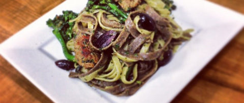 Tagliatelle Chipotle Black Bean
