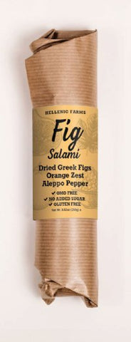 Fig Salami with Orange Zest