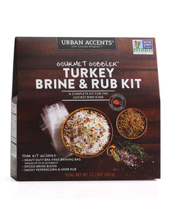 Turkey Brine and Rub Kit