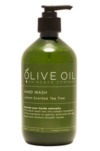 Hand Wash:  Lemon Scented Tea Tree
