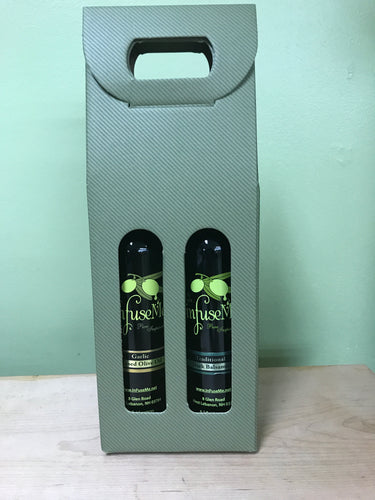 2 Pack- Garlic Olive Oil & Tradtional Balsamic Vinegar