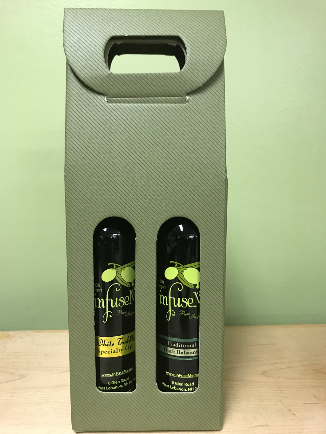 2 Pack- White Truffle Oil & Traditional Balsamic