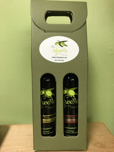 2 Pack- Basil Oil & Cascadian Raspberry White Balsamic