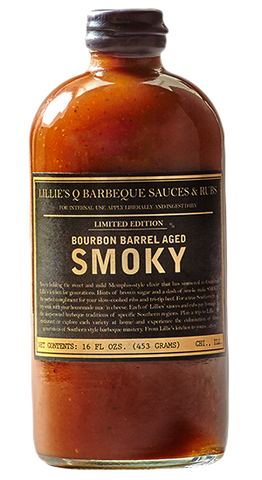 BBQ Limited Addition Burbon Barrel Aged Smoky