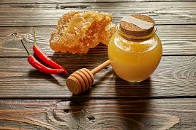 Honey Vinegar (100% Serrano Honey) - Sulfite Free (Silver Award Winning)