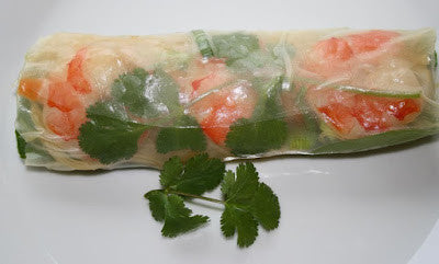 Vietnamese Fresh Shrimp Spring Roll