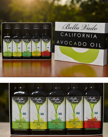 5 Pack Sampler- Avocado Oil