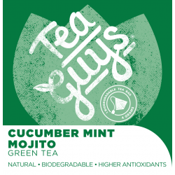 Tea: Cucumber Mint Mojito