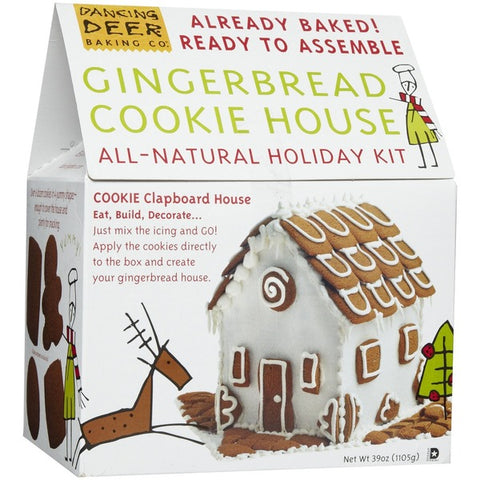 Gingerbread House Kit Pre Baked
