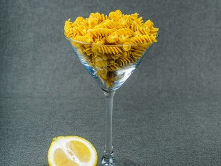 Gluten-Free Lemon Pepper Fusilli