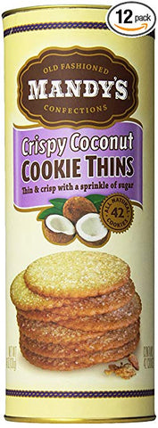 Cookies: Coconut Crispy Thins