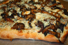 Load image into Gallery viewer, Cremini, Blue Cheese and Wild Mushroom - Sage Olive Oil Flat Bread