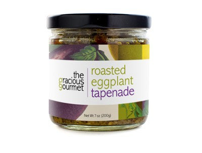 Tapenade Roasted Eggplant