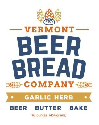 Vermont Beer Bread-Garlic Herb