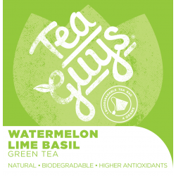 Tea: Watermelon Lime  Basil