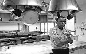 Sinatra in His Kitchen