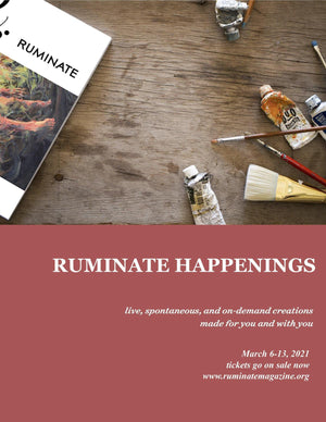 Ruminate Happenings Fundraiser