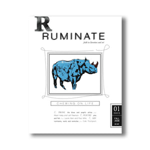 Issue 01: Chewing on Life - Ruminate Magazine