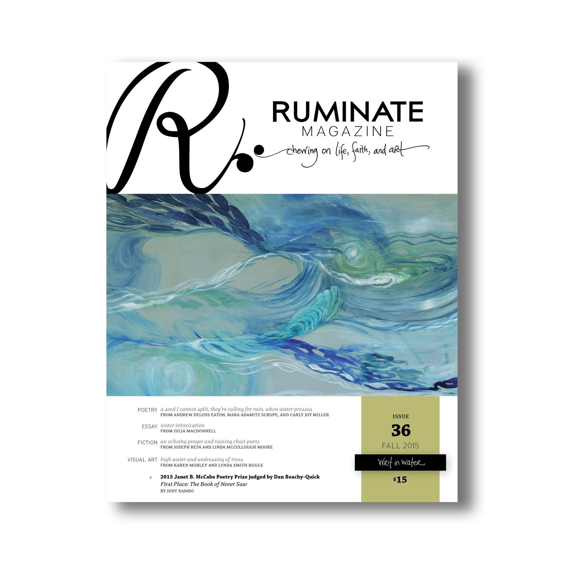 issue writ in water ruminate magazine issue 36 writ in water