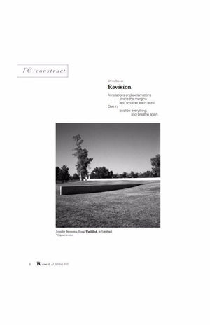 Issue 03: Reconstruction - Ruminate Magazine