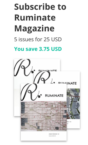 E-Journal 1 Year Subscription Without Auto-Renewal - Ruminate Magazine