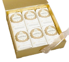 Nesti Dante '60th Anniversary' Soaps Gold Box - (6x250g)