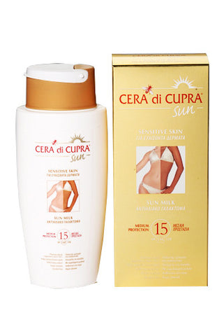 Cera di Cupra High Protection Sun Milk SPF 15 (200ml)