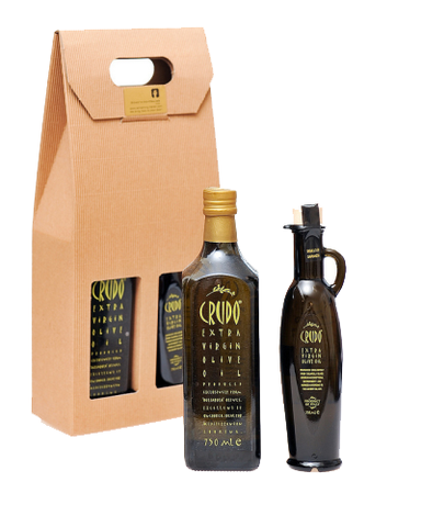 New Harvest! Crudo Extra Virgin Olive Oil from Puglia Gift