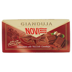 Novi Gianduja Chocolate with Crushed Hazelnuts - 100g
